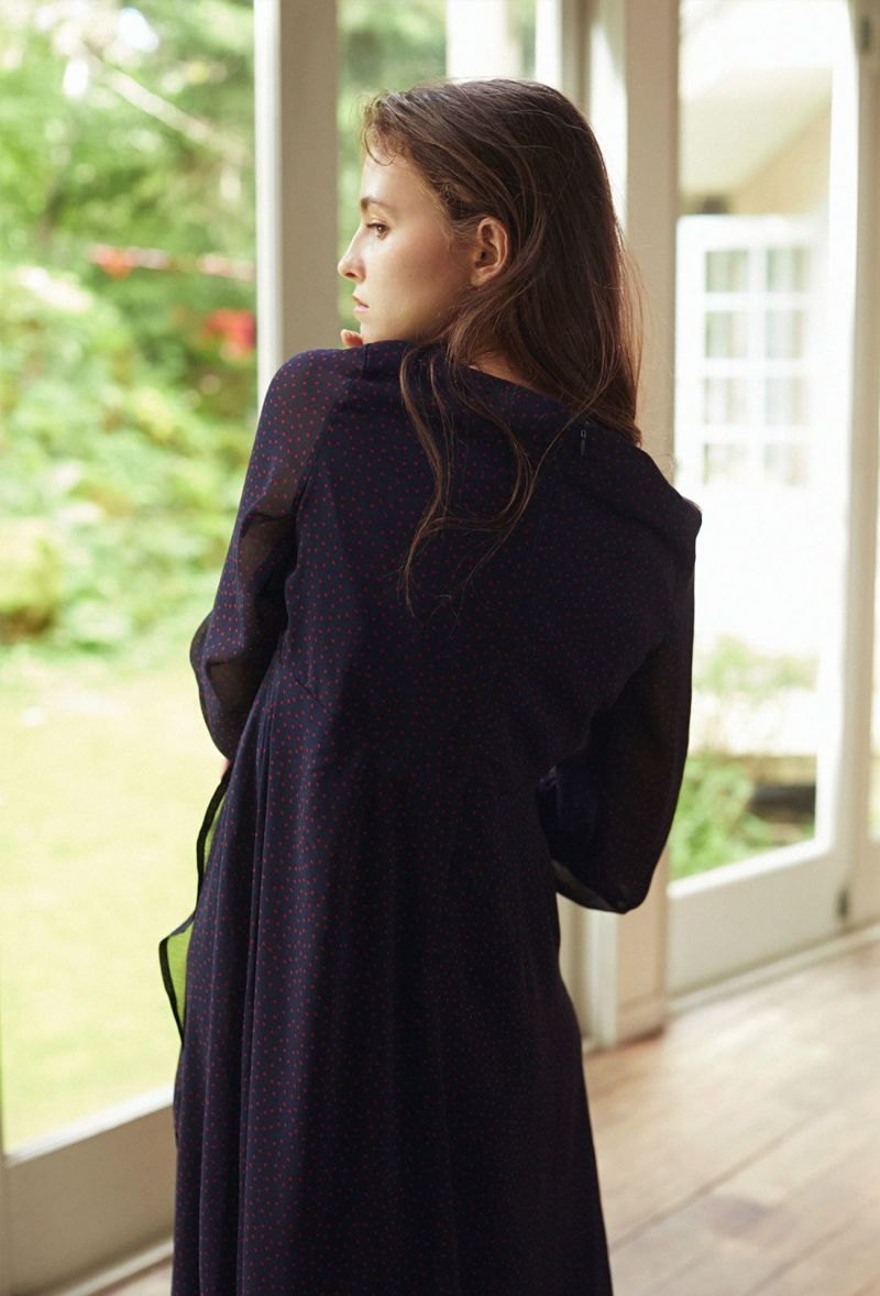 NAVY/176cm/Middle length着用